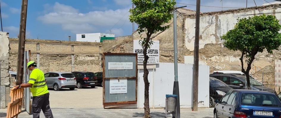 Bolsa aparcamiento calle Arcos (2)