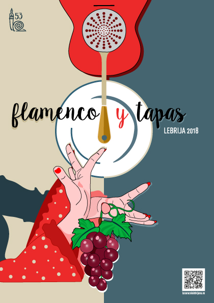 FLAMENCO Y TAPAS cartel